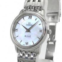Omega De Ville Prestige Steel 27.4mm White Roman numerals