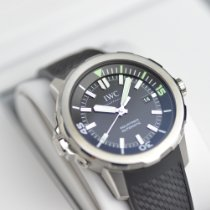IWC Aquatimer Automatic Сталь 42mm Черный Без цифр