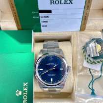 Rolex Oyster Perpetual 39 Steel 39mm Blue No numerals United States of America, New Jersey, Fort Lee