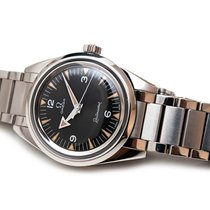 Omega Seamaster Railmaster Acier 38mm Noir Arabes France, Paris
