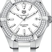 TAG Heuer Aquaracer Lady Steel 35mm White No numerals