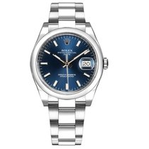 Rolex Oyster Perpetual Date Steel 34mm Blue No numerals United States of America, Florida, Miami
