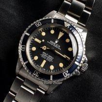 Rolex Submariner (No Date) Aço Preto