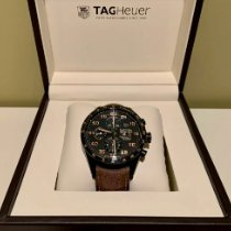 TAG Heuer Carrera Calibre 16 Titanium 43mm Black Arabic numerals United States of America, New Jersey, Freehold