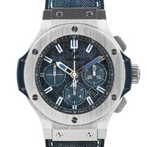 Hublot 301.SX.2770.NR.JEANS16 Steel Big Bang Jeans 42.5mm pre-owned