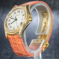 Cartier Yellow gold 33mm Quartz 887905 pre-owned