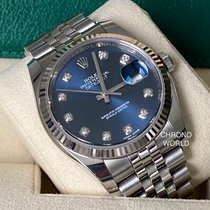 Rolex Datejust Steel 36mm Blue