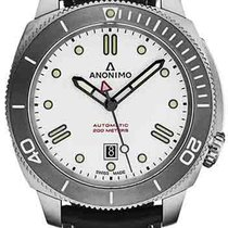 Anonimo new Automatic Steel Sapphire crystal