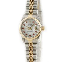 Rolex 79173NGR Or jaune Lady-Datejust occasion