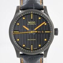 美度 Multifort 鋼 42mm 黑色 無數字