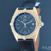 Breitling Antares Yellow gold 39mm Black