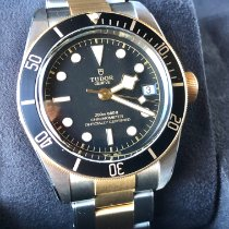Tudor Black Bay S&G Acero y oro 41mm Negro Sin cifras