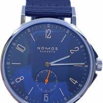 NOMOS Ahoi Datum Steel 40mm Blue Arabic numerals United States of America, Florida