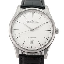 Jaeger-LeCoultre Master Ultra Thin Date Steel 39mm Silver United States of America, New York, New York