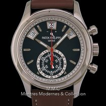 Patek Philippe Annual Calendar Chronograph Or blanc 40.5mm Sans chiffres France, Paris
