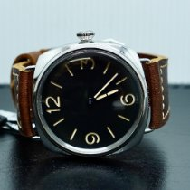 Panerai Special Editions Steel 47mm Black Arabic numerals