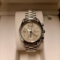 Omega Speedmaster Day Date Acero 39mm Blanco Sin cifras