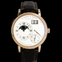 A. Lange & Söhne pre-owned Manual winding 41mm Silver