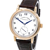 A. Lange & Söhne Red gold Manual winding Silver 40mm new 1815