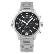 IWC Aquatimer Chronograph Steel 44mm Black