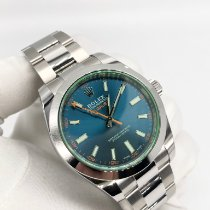 Rolex Milgauss Steel 40mm Blue No numerals United Kingdom, London
