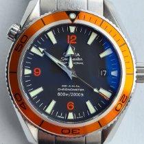 Omega Seamaster Planet Ocean Staal 42mm Zwart Arabisch Nederland, Leidschendam