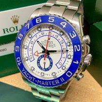 Rolex Yacht-Master II Steel 44mm White No numerals United Kingdom, Wilmslow