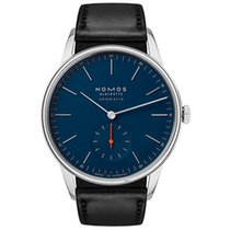 NOMOS Steel 28.5mm Automatic 343 new