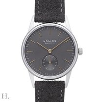 NOMOS Steel 32.8mm Manual winding 326 new