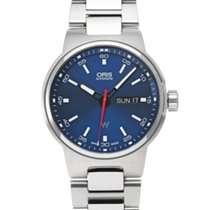 Oris Williams F1 Acier 42mm Bleu
