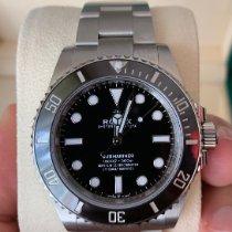 Rolex Submariner (No Date) nuevo 2020 Automático Reloj con estuche y documentos originales 124060