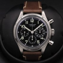 Longines Avigation Steel 41mm Black United States of America, California, Huntington Beach