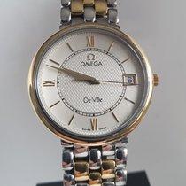 Omega De Ville Prestige Acero y oro 34mm Plata
