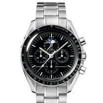 Omega Speedmaster Professional Moonwatch Moonphase Steel 42mm Black No numerals India, Mumbai,