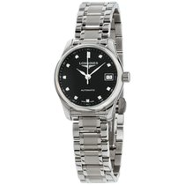 Longines Master Collection Steel 26mm Black United States of America, New Jersey, Somerset