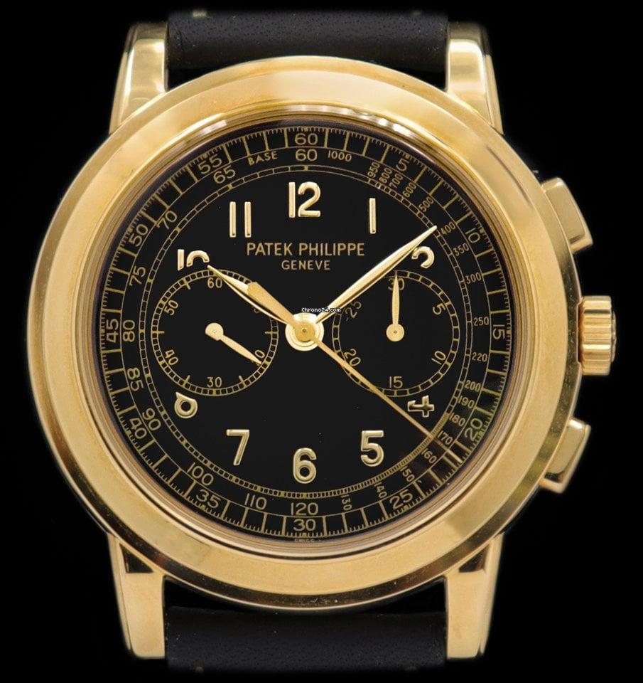 Patek Philippe Chronograph 5070J-001 2000 pre-owned