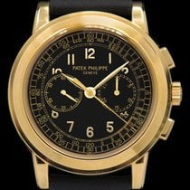 Patek Philippe Chronograph Yellow gold 42mm Black Arabic numerals United States of America, New York, New York