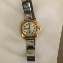 Rolex Yellow gold Manual winding 32mm pre-owned Oyster Precision