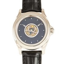 Omega De Ville Central Tourbillon Or blanc 38.5mm