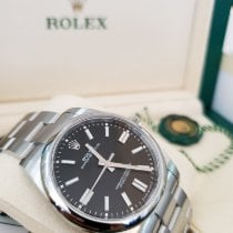 Rolex Oyster Perpetual Steel 41mm Black No numerals United States of America, New Jersey, Totowa