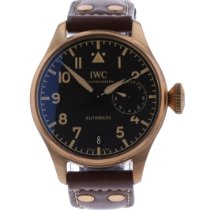 IWC Bronze Automatic Black Arabic numerals 46.2mm pre-owned Big Pilot