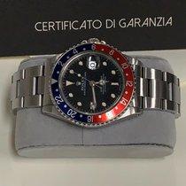 Rolex GMT-Master Сталь Черный Без цифр