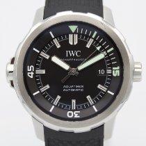 IWC Aquatimer Automatic Çelik 42mm Siyah Rakamsız