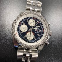 Breitling Bentley GT Сталь 49mm Черный Без цифр
