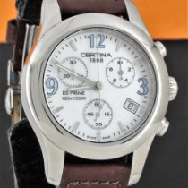Certina DS Prime Steel 34mm Mother of pearl Arabic numerals