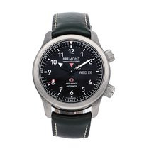 Bremont MB Steel 43mm Black Arabic numerals
