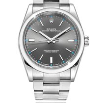 Rolex Oyster Perpetual 39 Steel 39mm Grey No numerals South Africa, Johannesburg