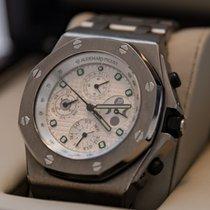 Audemars Piguet Titane Remontage automatique Blanc 44mm occasion Royal Oak Offshore Chronograph