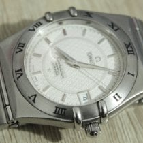 Omega pre-owned Quartz 35mm White Sapphire crystal