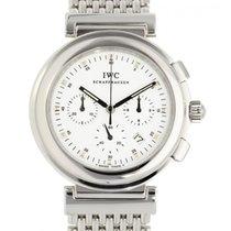 IWC Da Vinci Chronograph Stahl 37mm Weiß Arabisch Schweiz, Lugano